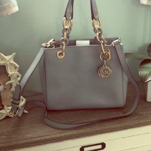 Light Blue MIchael Kors Handbag